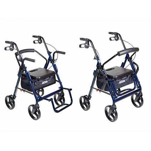 Drive Duet | Transport Chair & Rollator