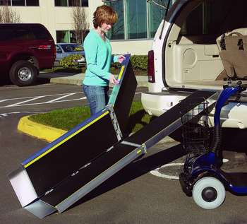 Wheelchair Ramp | tri-fold