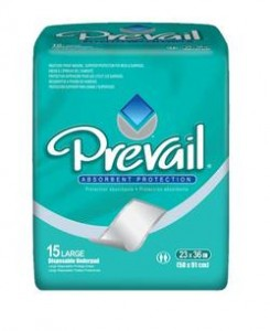 Prevail UP-150 | Disposable Underpad | Chux