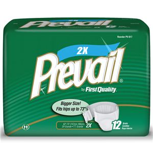 Adult Diaper Briefs | Prevail | XX Large
