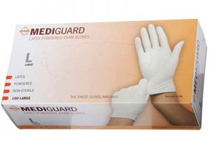 Mediguard Latex Gloves | Los Angeles