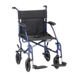 Transport Wheelchair Blue