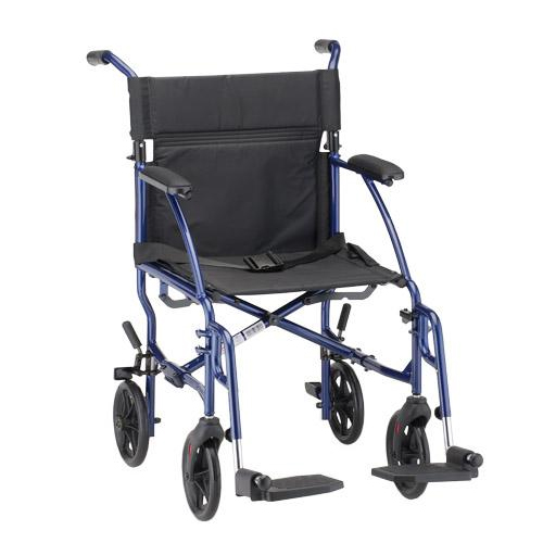 Transport Wheelchair Blue